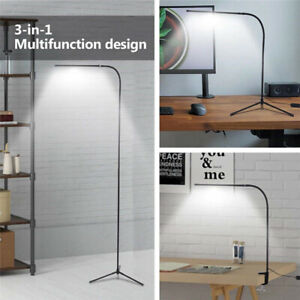 Modern Adjustable Floor Lamp Standing LED Dimmable For Reading Home Office $36.99