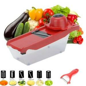 Slicer Manual Vegetable Cutter Chopper Fruit Mandoline Kitchen Potato Peeler