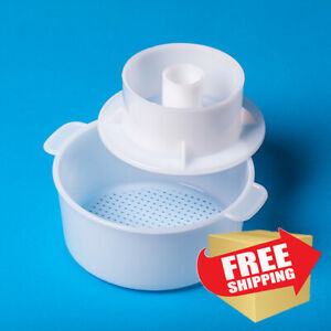 Edam Hard Cheese Mold Сheese Press Strainer cheese With Follower Piston 12 L $12.37