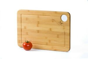 Large Bamboo Cutting Board Kitchenwood Butсher Block W Juice Groove amp; Handles