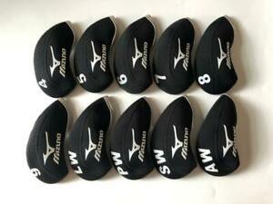 NEW 10PCS Golf Iron Covers for Mizuno Club Headcovers 4 LW Black Gray Universal $14.88
