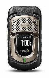 Kyocera DuraXT E4277 Black Sprint Rugged Flip Phone Tello Compatible
