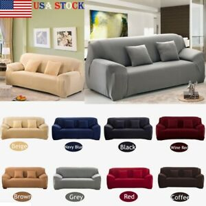 Sofa Covers 1 2 3 4 Seater Stretch Chair Couch Cover Elastic Slipcover Protector