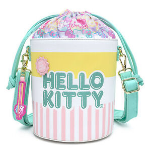 Loungefly Sanrio Hello Kitty Cup O Kitty Crossbody Bag Purse NEW IN STOCK