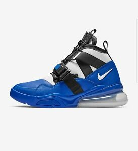 Nike Air Force 270 Utility Racer Blue Men#x27;s Sneakers Shoes Black AQ0572 400