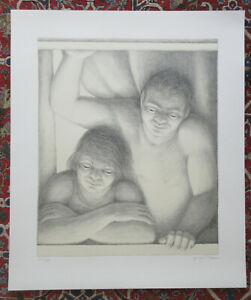 George Tooker The Window Signed and Numbered by Artist 121 of 175 Pristine $600.00
