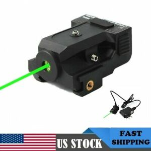 Rechargeable Micro Green Dot Laser Sight Metal For Pistol Rifle ScopeSubcompact $37.98
