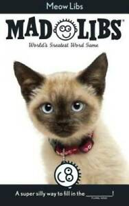 Meow Libs Mad Libs Paperback By Price Stern Sloan GOOD $3.99