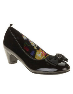 George Youth Girls Black Pumps Size 1 $12.99