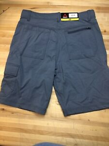 Gerry Mens Venture Cargo Flat Front Stretch Shorts Shade BLUE Mens Shorts 32 $24.99