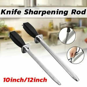 Home Chef Professional Diamond Knife Sharpener Rod Honing Steel Sharpening Stick