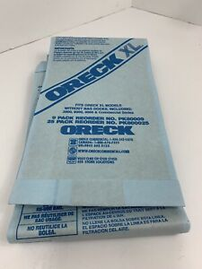 Oreck XL Brand Commercial Line Upright Vacuum Disposable Bag Pack Of 7