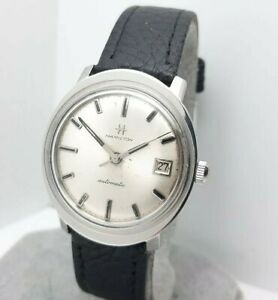 Vintage Hamilton 689A 17jewels Men#x27;s Automatic watch date swiss made 1960s $285.00