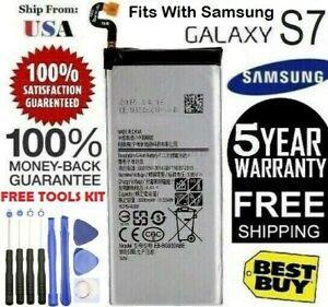 Replacement Battery For Samsung Galaxy S7 SM G930 EB BG930ABE 3000mAh oem TOOLS $10.99