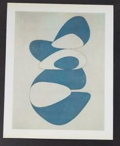 Victor Vasarely quot;Longsorquot; Mounted Offset Color Lithograph 1971 $49.00