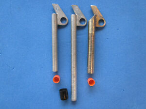 3 Lowe Ice Screws: 1 at 9quot; long 2 at 6quot; long $65.00