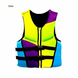 Youth Vest Life Jacket Zippered 50 90 LBS Rsenio