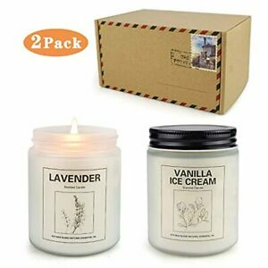 Double Gift Candles for Home Scented Aromatherapy Candles for Women 50 Hours B