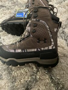 Under Armour Brow Tine 2.0 400G Men#x27;s Size 8 New Hunting Boots 3000292 901 UA