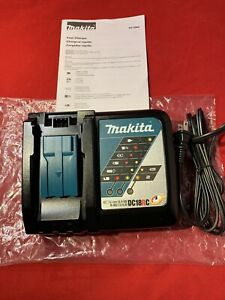 Makita DC18RC T 18V Lithium Ion Rapid Battery Charger Genuine