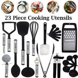 Stainless Steel Kitchen Utensils Non Stick amp; Heat Resistant Cooking Utensils Set $14.99