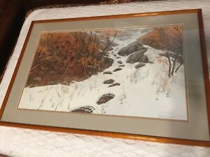 Bev Doolittle quot;Doubled Backquot; Limited Edition Signed and Numbered Lithograph COA $950.00