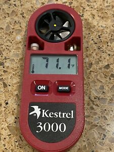 Vintage Kestrel 3000 Pocket Handheld Wind Weather Meter Circa 1998 Works Great