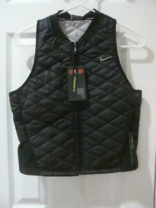 Womens Nike Running Vest Packable Black CJ5562 010 Size XS XL $35.99