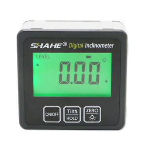 Digital level inclinometer magnetic angle Digital Level Angle Finder $17.35