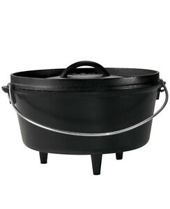Camping supplies Lodge Deep Camp Dutch Oven 5 qt. ri