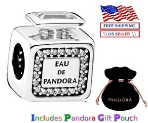 New Authentic S925 Sterling Silver PANDORA Scent Perfume Bottle Charm $23.99