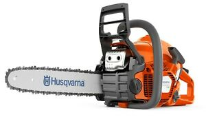 Husqvarna 130 Chainsaw w 16quot; bar and chain FREE SHIPPING $199.95
