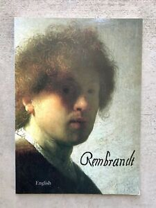 Rembrandt Paintings Collection. Compilation Of Rembrandt. VTG amp; Rare Art Book $32.00