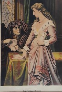Chromolithograph of The Fortune Teller from American Journal Magazine $100.00