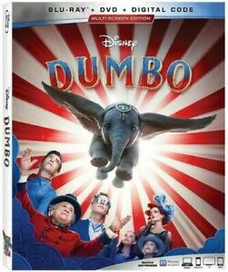 Dumbo Blu RayDVDDigital NEW SEALED w SLIP $8.99