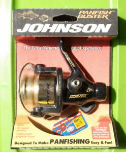 VINTAGE JOHNSON quot;PANFISH BUSTERquot; CASTING SPINNING REEL NEW IN PACKAGE $44.99