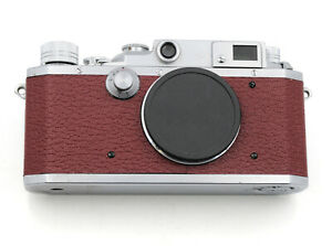 Canon II D Rangefinder Replacement Cover Laser Cut Genuine Leather