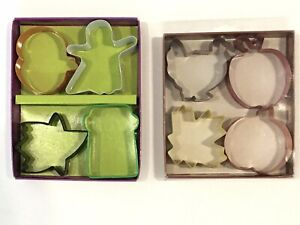Wilton Fall Halloween 8 Pc Sets Leaves Ghosts Pumpkins Turkey Cookie Cutters $15.95
