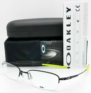 Authentic OAKLEY OX3133 0653 TOP SPINNER 5B Polished Black 53 19 140 Eyeglasses