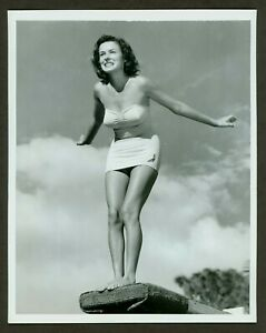 SEXY ORIGINAL ACME NEWSPICTURES PHOTO SWIMSUIT PIN UP VF c1950