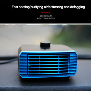 Portable 2 in 1 Windshield Hot Warm Heater Fan with Swing out Heater amp; Cooler $46.89