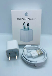 IPHONE Lightning Charger Cables amp; Wall Cube For iPhone 6 7 8 Plus X XR 11 11 Pro $8.99