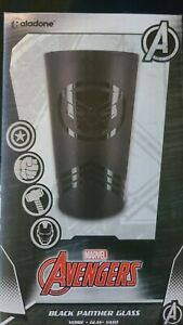 Official Marvel Avengers Black Panther Character Drinking Glass Paladone NEW $14.99