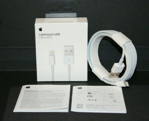 Genuine OEM Original Apple iPhone Lightning Cable Charger Cord USB 2M 6FT New $9.95