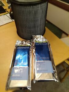 Filter Queen 1 Year Defender Bundle With 2 Charcoal Wraps RAC2000 RAC3000 NEW $124.99