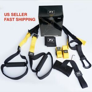 PRO3Suspension trainer straps Home Gym Fitness Resistance band training $28.50