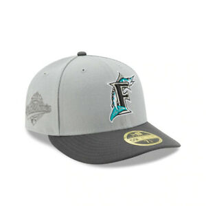 Florida Marlins New Era quot;Gloryquot; 1997 Champs Low Profile 59FIFTY Fitted Hat Gray $24.99