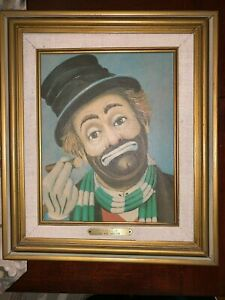 quot;FREDDIEquot; a RED SKELTON oil on canvas Lithograph Signed Numbered $100.00