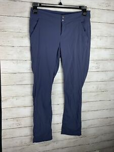 Columbia Pants Women's Size 6 Blue Solid Adjustable Omni shield Inseam 31quot;