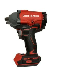 NEW Craftsman CMCF920B V20 Cordless Brushless 2spd 1 2quot; Impact Wrench Tool Only $95.00